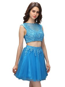 Most Popular Sleeveless Beading and Appliques Zipper Pageant Dresses