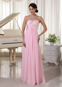 Sweetheart Beaded Beauty Pageant Dresses in Baby Pink at Poitiers