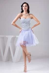 Sexy Lilac Sweetheart Glitz Pageant Dresses with Rhinestone in Lincoln