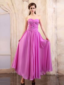Pink Sweetheart Strapless Chiffon Pageant Dress in Greater Sudbury
