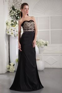 Strapless Floor-length Taffeta Interview Pageant Suits with Ruches in Vail