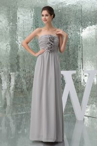 Floor Length Special Ruched Gorgeous Pageant Dresses with Hand Flowers