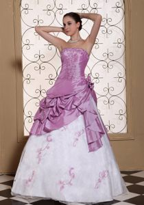 Special Beaded and Ruched A-line Miss Universe Pageant Dress