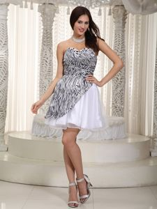 Sweetheart Ruched Miss Mississippi Pageant Dress with Zebra in Ehrenberg