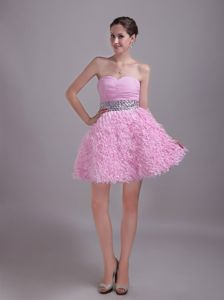Sweetheart Rhinestoned Interview Pageant Suits in Baby Pink in Fairfield