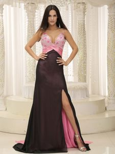 Beaded and Ruched Sweetheart High Slit Dresses For Pageants In Nj in Ottawa, Ontario