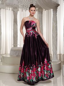 Printing Colorful Long Prom Pageant Dresses in Wallington New Jersey