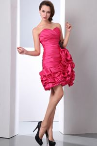Coral Red Sweetheart Taffeta Beauty Pageant Dresses with Beading in Gilroy