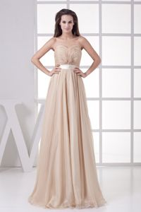 2013 Empire Ruched Sweetheart Natural Beauty Pageants Dress in Anthem
