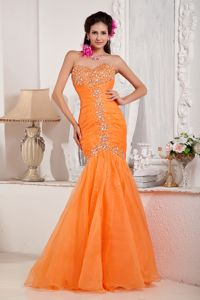 Mermaid Sweetheart Beaded Pageant Dresses for Miss America in Fort Morgan